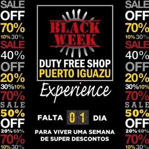 Black Week Duty Free Shop Iguazu