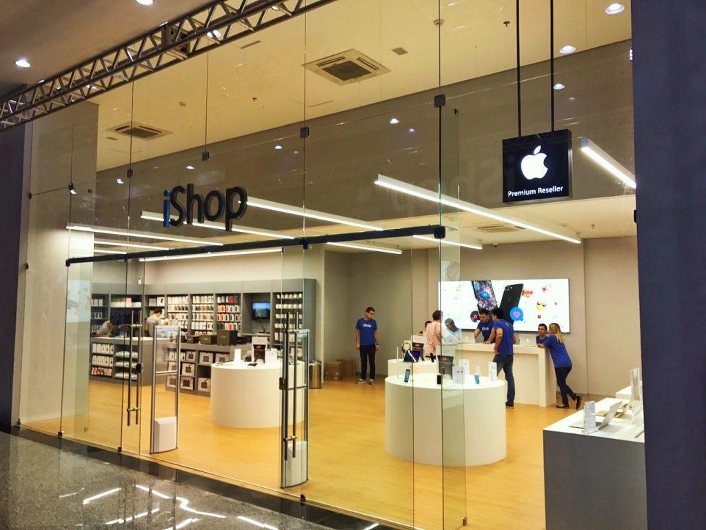 iShop, única loja exclusiva da Apple em Ciudad del Este conta com excelente espaço para os visitantes